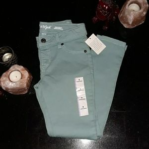 Teal Jeggings NWT Super Stretch size 8